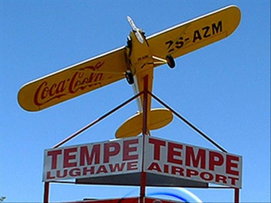 Tempe Airport. Image: Twitter/OFM News