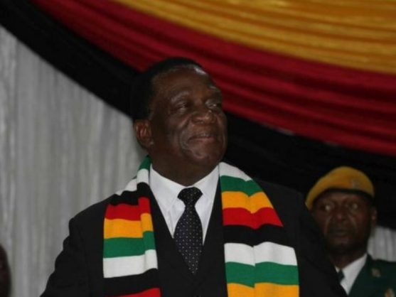 Mnangagwa says he's receiving positive reports from the ground
