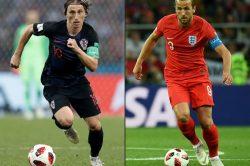 Blow by blow: Croatia vs England