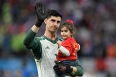 Belgium's Courtois blasts France victory as 'shame for football'