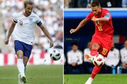 Live report: Belgium vs England