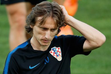 Modric says Golden Ball 'bittersweet' after World Cup defeat