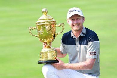 SA's Justin Harding wins Indonesia Open