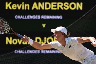 Brave Anderson falls short in Wimbledon final