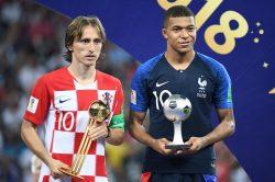 Modric wins World Cup Golden Ball, Mbappe young player award