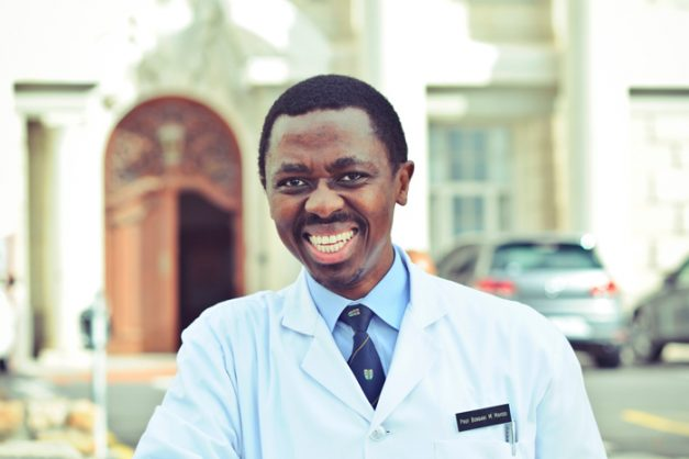 Professor Bongani Mayosi. Picture: Supplied by University of Cape Town