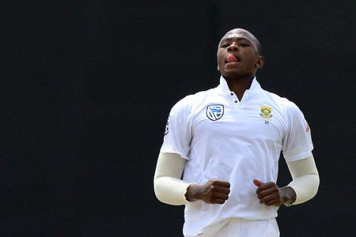 South African cricketer  Kagiso Rabada  (Photo by Tharaka Basnayaka/NurPhoto via Getty Images)