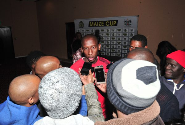 Mark Mayambela of Chippa United during the 2018 Maize Cup launch at Carousel Hammerskraal, Pretoria on 06 July 2018 ©Samuel Shivambu/BackpagePix