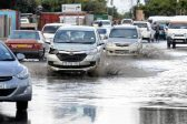 WATCH: Cape Town roads flooded after heavy rains