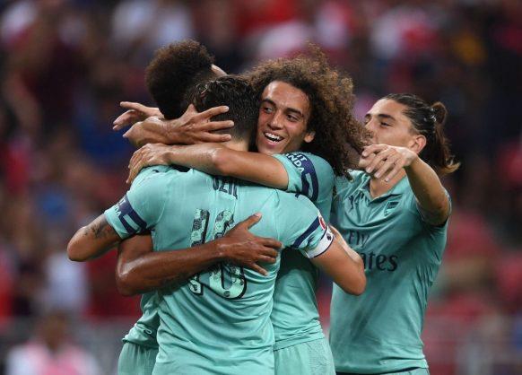 Arsenal midfielder Guendouzi joins Hertha Berlin on loan