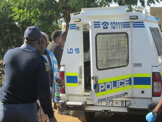 Temba police responded to a case of dog attack in Stinkwater where a man was killed by four mixed breed dogs. Picture: Pretoria North Rekord.