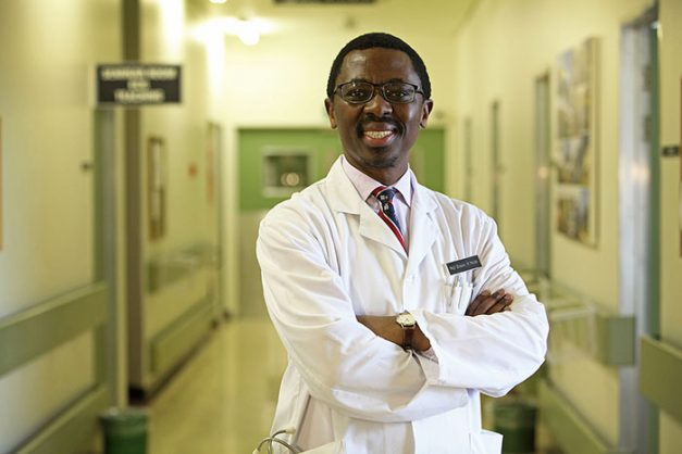 Professor Bongani Mayosi was a widely respected and well-liked scientist. Photo from UCT