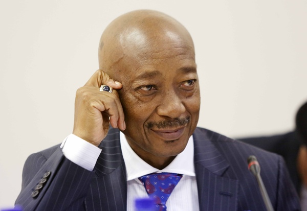 CAPE TOWN, SOUTH AFRICA – NOVEMBER 28, 2017: Former SARS Commissioner Tom Moyane (Photo by Gallo Images / The Times / Esa Alexander)