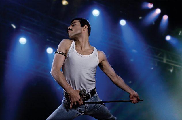 Rami Malek as rock icon Freddie Mercury in Bohemian Rhapsody. Picture: Twentieth Century Fox