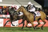 Lyle Hewitson ends up riding in the right lane