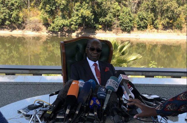 Robert Mugabe. Picture: Twitter/@ZimLive