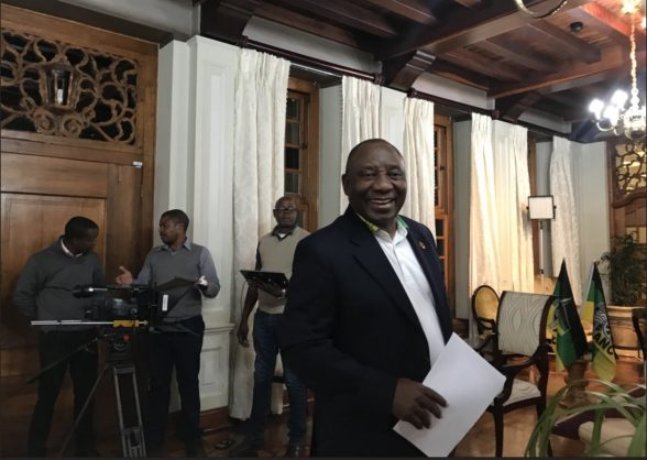 President Cyril Ramaphosa. Picture: Twitter/ANC