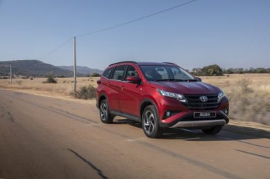 Toyota's Rush joins compact SUV craze