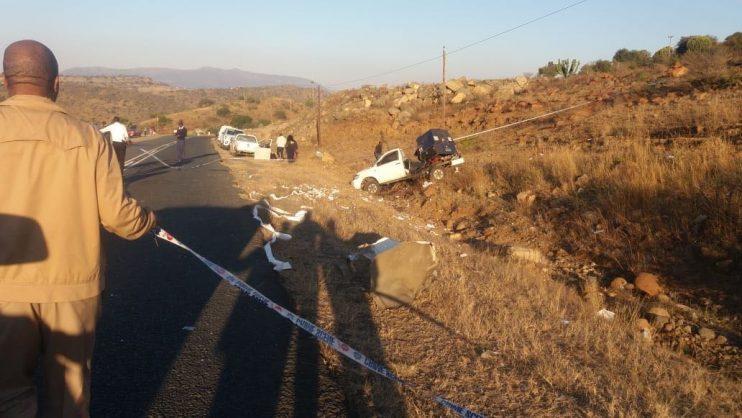 The scene of the heist at KwaKopi between Msinga and Greytown, KwaZulu-Natal, 11 July 2018. Picture: Supplied