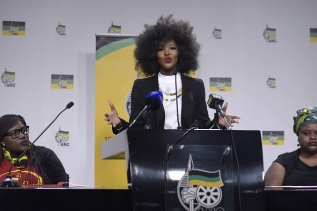 #TotalShutdown talking nonsense about us – ANCWL young women's desk