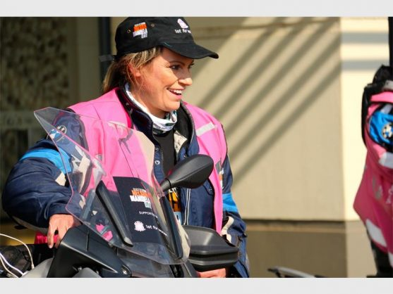 Bikers for Mandela Day ride to keep girls in school