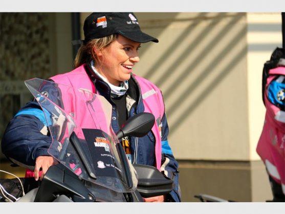 Bikers for Mandela Day ride to keep girls in school