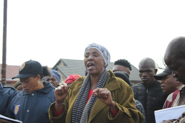 CPF member, Trudy Jabavu, encouraged residents to revive the neighbourly spirit and look out for each other.