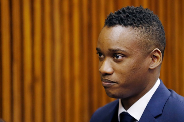 Duduzane Zuma, son of former South African president Jacob Zuma. REUTERS/Siphiwe Sibeko