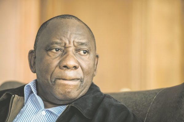 JOHANNESBURG, SOUTH AFRICA – DECEMBER 08, 2017: Deputy President Cyril Ramaphosa during an interview in his home in Hyde Park on December 08, 2017 in Johannesburg, South Africa. Ramaphosa shot down President Jacob Zuma's proposal to have the loser candidate automatically be made the deputy president with the election only days away. (Photo by Gallo Images / Rapport / Deon Raath)