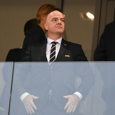 Gianni Infantino said he had been anxiously following the rescue operation.
