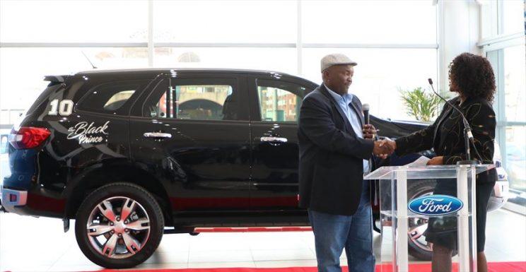Jomo Sono announced as Ford Brand Ambassador