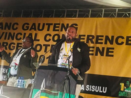 'Bring evidence and I'll step aside', says ANC Gauteng secretary