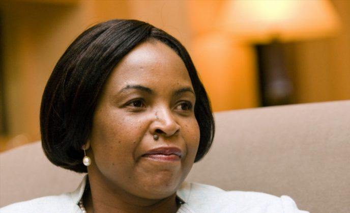 Women work 'under vulnerable conditions and in low-paying jobs', says Nkoana-Mashabane