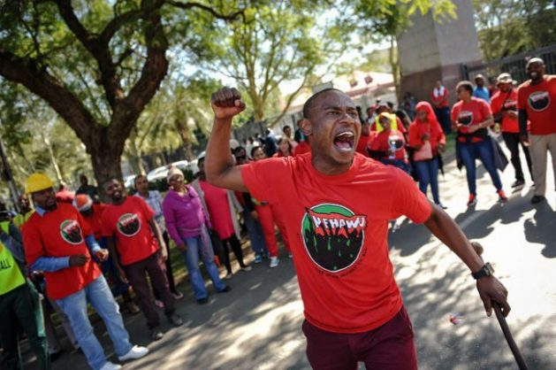 Effect of health sector strike comes second to frontline workers' lives – Nehawu