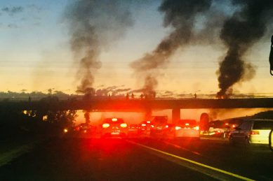 Blame game begins as Olievenhoutbosch protest action erupts