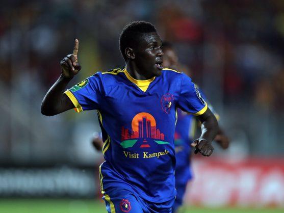 KCCA FC player  Shaban Muhammad PA/MOHAMED MESSARA