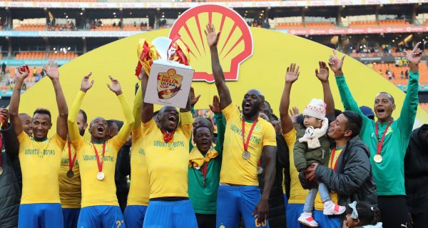GALLERY: Sundowns win Shell Helix Ultra Cup