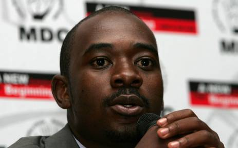 MDC leader Nelson Chamisa. Picture: AFP Photo.