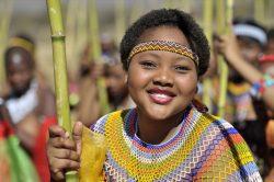 Maidens ready for uMkhosi Womhlanga (Zulu Reed Dance) 2018