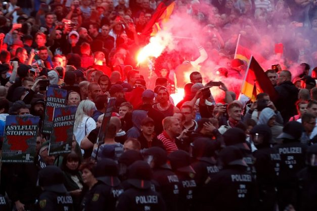 Xenophobic riots in Germany as far-right runs wild
