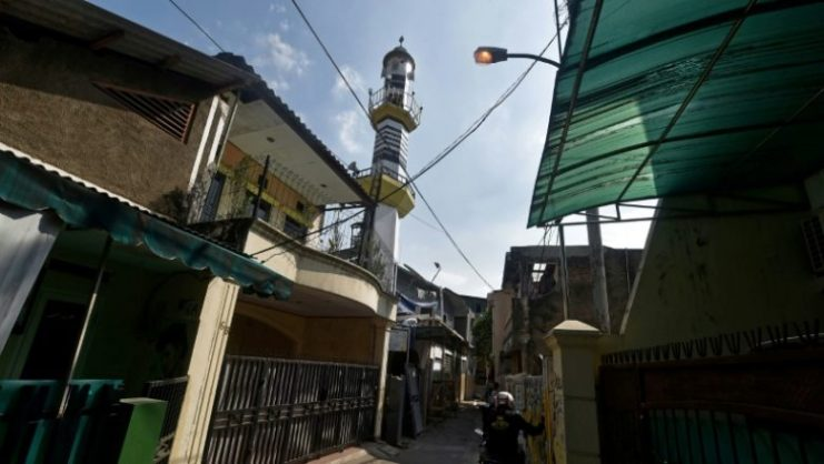 A woman in Muslim-majority Indonesia was sentenced to 18 months in jail Tuesday for complaining about the volume of a mosque's call to prayer — the latest conviction under a controversial blasphemy law. Picture: AFP PHOTO.