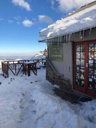 Snowy Sani Mountain Lodge - Sani Top. Picture: Soekie Swart/Facebook/Snow Report