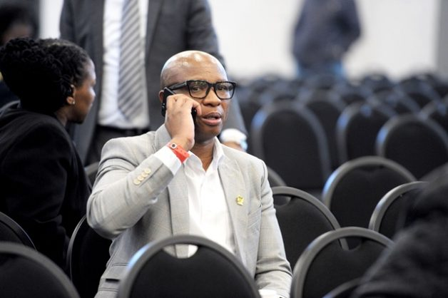 Former ANC spokesman Zizi Kodwa at the commission of the inquiry into state capture, whuch former ANA MP Vytjie Mentor testified. Picture:Nokuthula Mbatha/African News Agency/ANA
