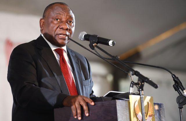 Share the land, says Ramaphosa
