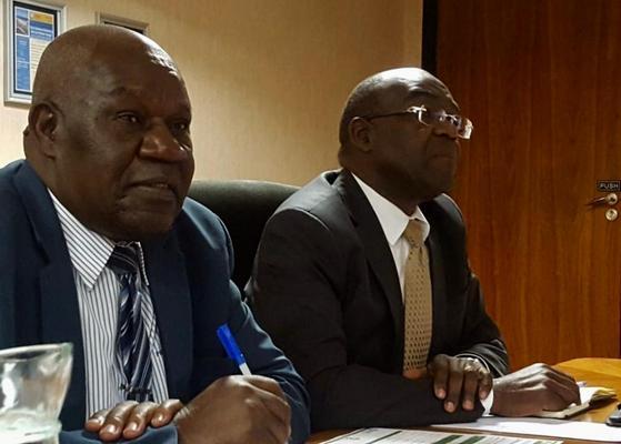 Zimbabwe's ambassador to South Africa (right) David Hamadziripi. Picture: Jonisayi Maromo / ANA.