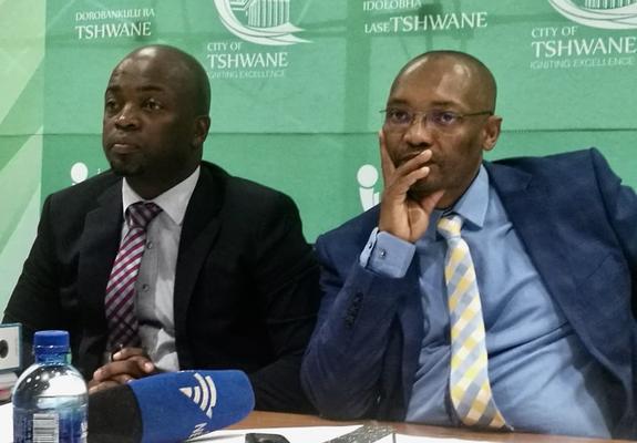 Solly Msimanga and Moeketsi Mosola. Picture: ANA