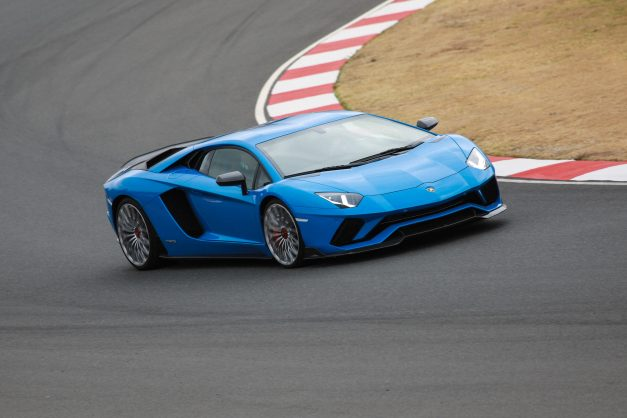 Driven Lamborghini Aventador Roadster S Track Sharp Meets Open