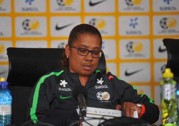 Desiree Ellis coach of Banyana Banyana (Pic Sydney Mahlangu/BackpagePix)