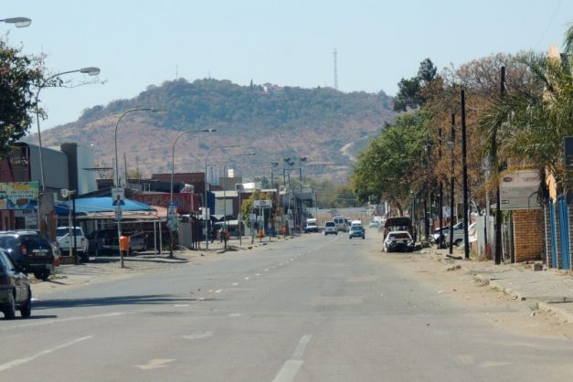 Downtown Brits, North West province. Picture: Facebook