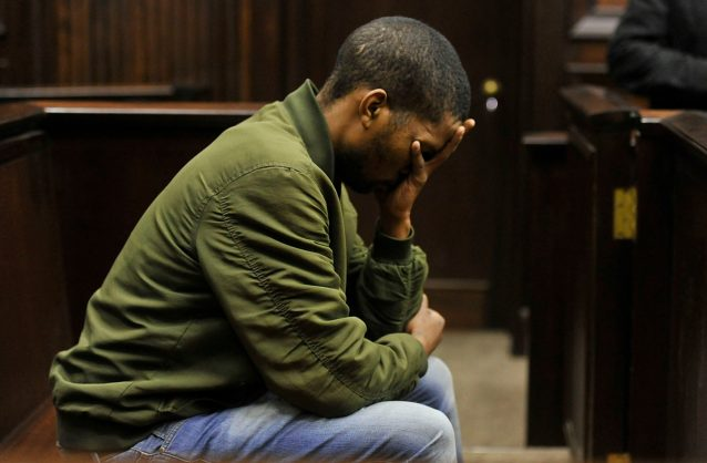 Convicted rapist and murder Odwa Nkololo at the Western Cape High Court on Tuesday. Picture: Noor Slamdien/ANA